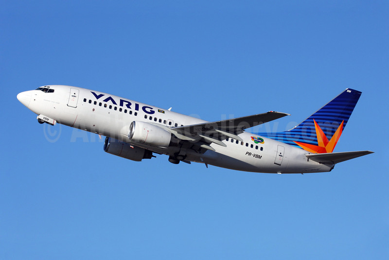 VARIG (2nd) (VRG Linhas Aereas) Boeing 737-7EA PR-VBM (msn 32406) GRU (Marcelo F. De Biasi). Image: 900116.