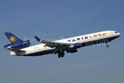 VARIG LOG (Varig Logistica) McDonnell Douglas MD-11F PR-LGD (msn 48498) LTN (Antony J. Best). Image: 905363.