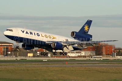 VARIG LOG (Varig Logistica) McDonnell Douglas DC-10-30 (F) PP-VQY (msn 46949) LHR (SPA). Image: 935558.