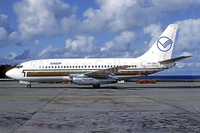 VASP Boeing 737-2K2 PP-SRV (msn 22296) (Transavia colors) LPA (Christian Volpati Collection). Image: 939128.