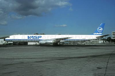VASP Cargo McDonnell Douglas DC-8-71 (F) PP-SOP (msn 45976) MIA (Bruce Drum). Image: 104883.