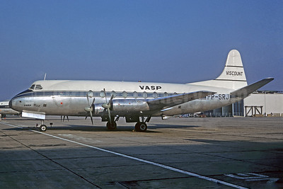 VASP Vickers Viscount 701 PP-SRJ (msn 015) LHR (Jacques Guillem Collection). Image: 939130.