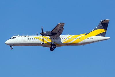 Voepass Linhas Aéreas ATR 72-212A (ATR 72-500) PP-PTM (msn 798) (Passaredo colors) GRU (Rodrigo Cozzato). Image: 954058.