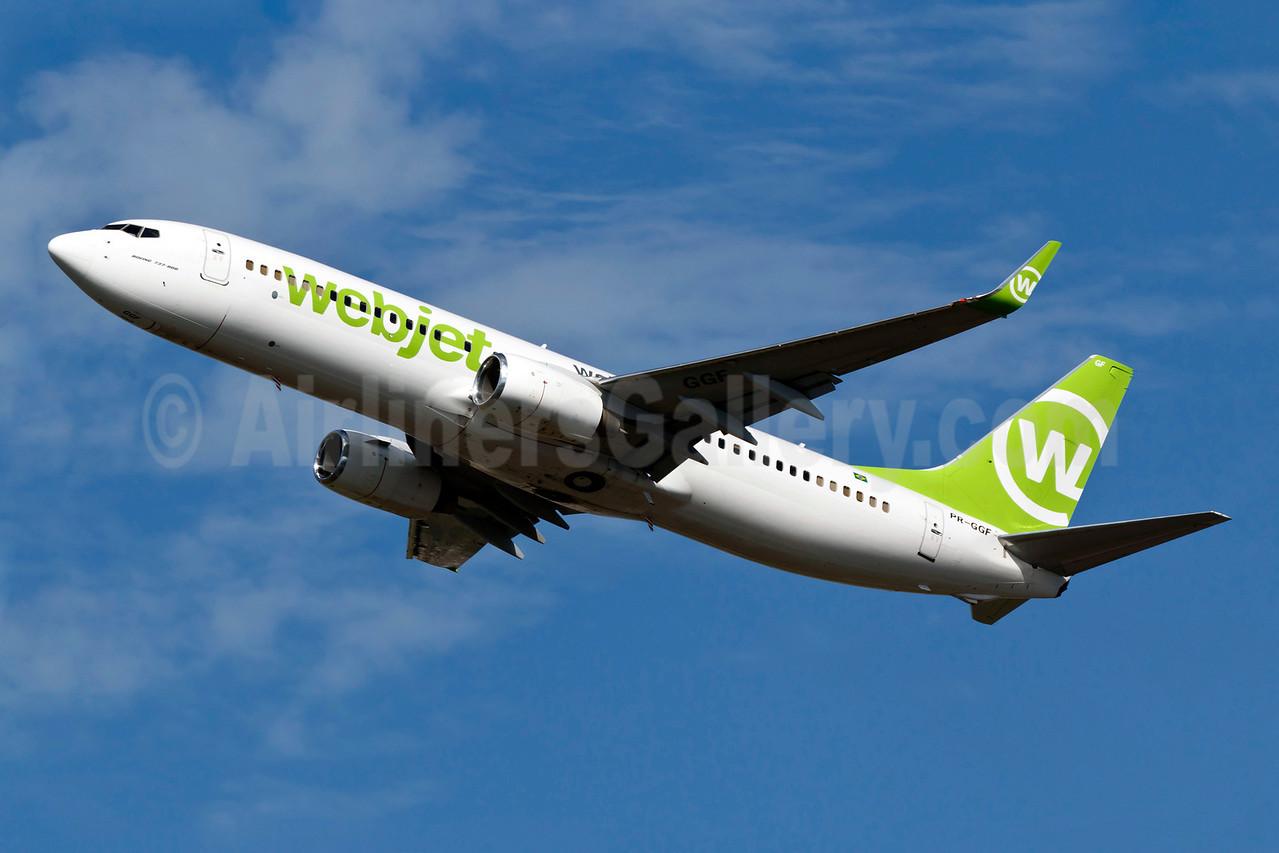 Webjet Linhas Aereas Boeing 737-8EH WL PR-GGF (msn 35826) GRU (Rodrigo Cozzato). Image: 909118.