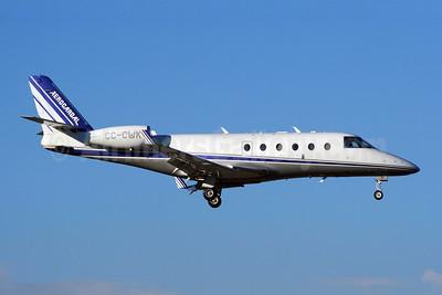 Aerocardal Gulfstream G150 CC-CWK (msn 219) SCL (Alvaro Romero). Image: 900094.