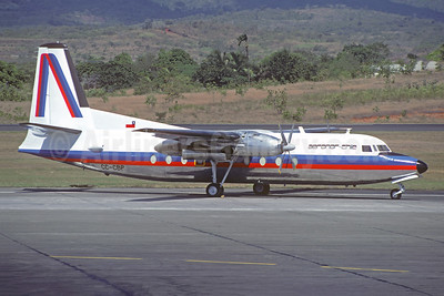 Aeronor Chile Fairchild F-27A CC-CBP (msn 39) PTY (Jacques Guillem Collection). 945588.