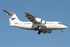DAP Mineral Airways (Aerovias DAP)-Atlantic Airways (Faroe Islands) BAe RJ85 OY-RCE (msn E2233) SCL (Alvaro Romero). Image: 910630.