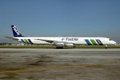 Fast Air McDonnell Douglas DC-8-71 (F) CC-CAX (msn 45970) MIA (Bruce Drum). Image: 103701.