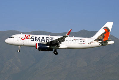 JetSmart (Chile) Airbus A320-232 WL CC-AWC (msn 7691) SCL (Jacques Guillem Collection). Image: 947189.