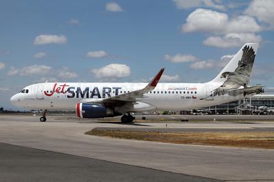 JetSmart (Chile) Airbus A320-232 WL CC-AWA (msn 7691) SCL (Alvaro Romero). Image: 944555.
