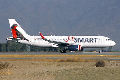 JetSmart (Chile) Airbus A320-232 WL CC-AWC (msn 7691) SCL (Jacques Guillem Collection). Image: 947188.