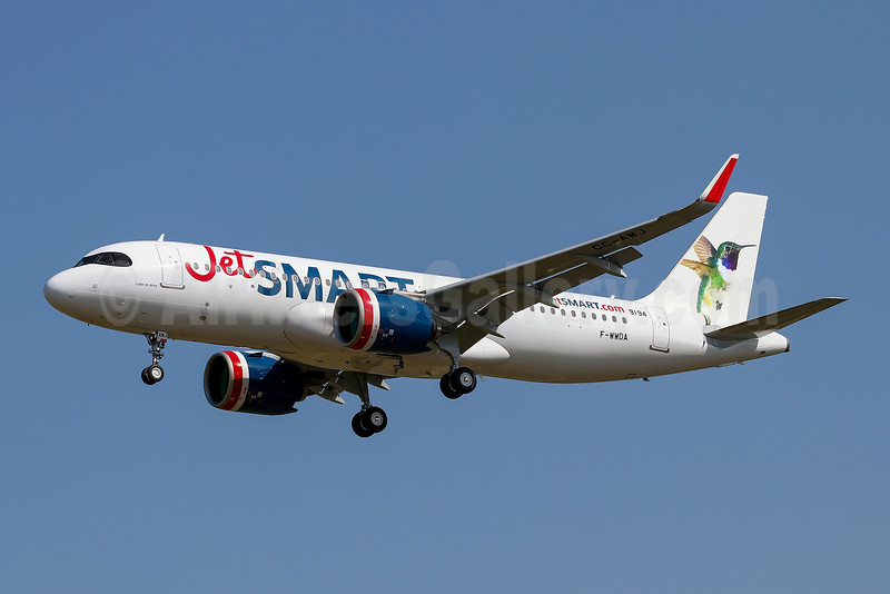 First Airbus A320neo for JetSmart