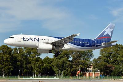 LAN Airlines (Chile) Airbus A320-233 CC-CQO (msn 3535) AEP (Ken Petersen). Image: 938143.