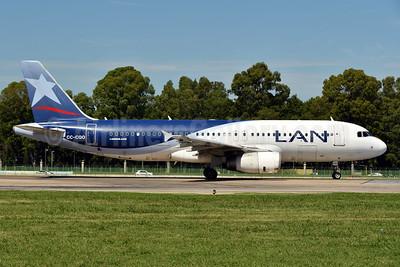 LAN Airlines (Chile) Airbus A320-233 CC-CQO (msn 3535) AEP (Ken Petersen). Image: 938142.