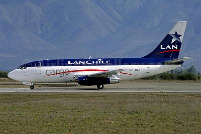 LAN Chile Cargo Boeing 737-204 (F) CC-CSD (msn 20417) SCL (Jacques Guillem Collection). Image: 954410.