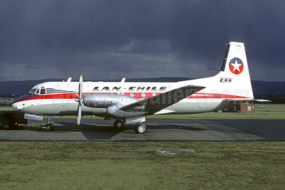 LAN-Chile Hawker Siddeley HS.748-234 Series 2 CC-CEG (msn 1618) EGCD (Christian Volpati Collection). Image: 946401.