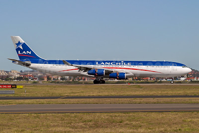 LAN Chile Airbus A340-313 CC-CQE (msn 429) SYD (Wingnut). Image: 943962.