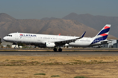 LATAM Airlines (Chile) Airbus A321-211 WL CC-BEN (msn 7287) SCL (Ken Petersen). Image: 937754.