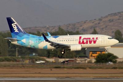 LAW - Latin American Wings (Chilejet) Boeing 737-33R WL CC-ARQ (msn 28869) SCL (Alvaro Romero). Image: 937249.