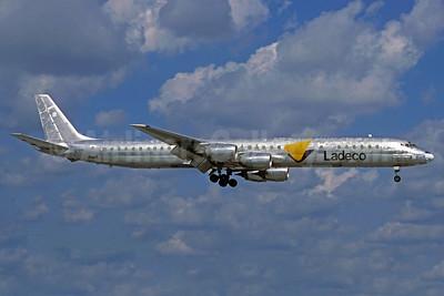 Ladeco Airlines (Linea Aereas Del Cobre) McDonnell Douglas DC-8-71 (F) CC-CYQ (msn 45810) MIA (Christian Volpati Collection). Image: 938252.