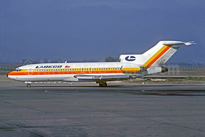 LADECO Airlines (Linea Aereas Del Cobre) Boeing 727-78 CC-CFG (msn 18796) SCL (Christian Volpati). Image: 907574.