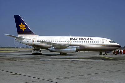 National Airlines (Chile) Boeing 737-204 CC-CSH (msn 20632) SCL (Christian Volpati). Image: 921625.