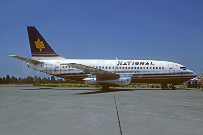 National Airlines (Chile) Boeing 737-204 CC-CSI (msn 20633) SCL (Christian Volpati). Image: 921626.