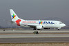 PAL Airlines Boeing 737-3G7 CC-ADZ (msn 24634) (Copa America 2011-Chile Soccer Team) SCL (Alvaro Romero). Image: 906743.