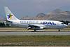 PAL-Prinicipal Airlines Boeing 737-236 CC-CZO (msn 22030) SCL (Alvaro Romero). Image: 904831.