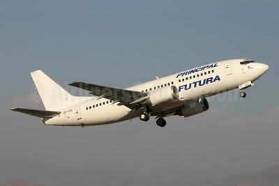Principal (Aerolinea Principal de Chile)/Futura International Airways Boeing 737-33A CC-CAL (msn 23635) SCL (Marcelo F. De Biasi). Image: 900188.