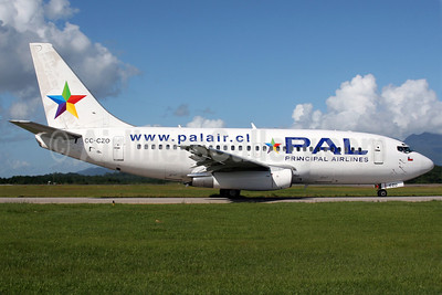 PAL-Principal Airlines Boeing 737-236 CC-CZO (msn 22030) FLN (AirSpeed). Image: 904830.