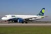 Sky Airline (Chile) Airbus A319-111 CC-AID (msn 2436) SCL (Alvaro Romero). Image: 938132.