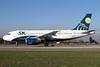 Sky Airline (Chile) Airbus A319-111 CC-AFX (msn 2283) SCL (Alvaro Romero). Image: 938128.