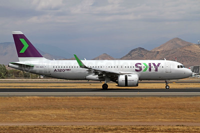 Sky Airline (Chile) Airbus A320-251N WL CC-AZC (msn 8444) SCL (Alvaro Romero). Image: 944556.