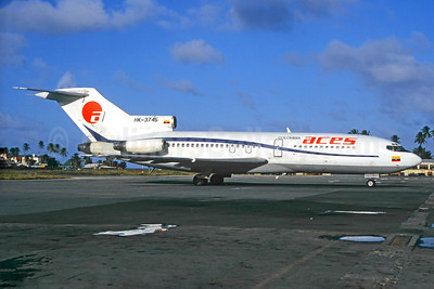 ACES Colombia Boeing 727-C3 HK-3745 (msn 20420) ADZ (Jacques Guillem Collection). Image: 933520.