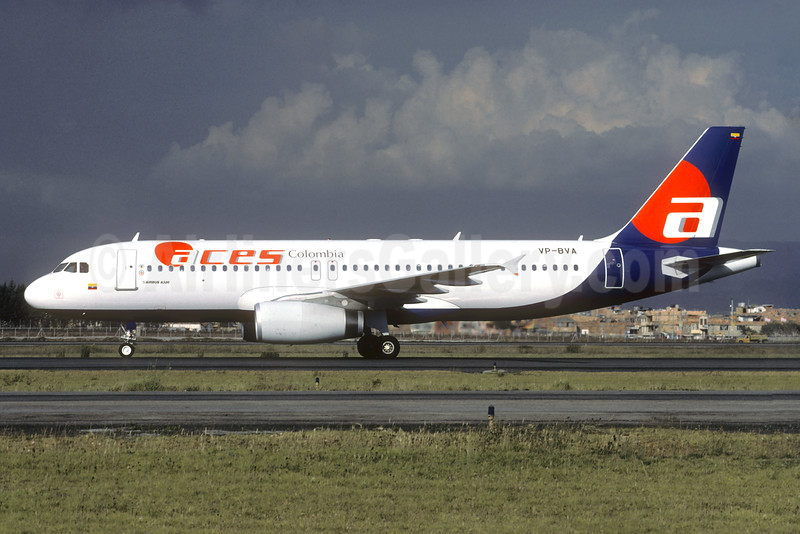 ACES Colombia Airbus A320-233 VP-BVA (msn 739) BOG (Christian Volpati). Image: 936295.