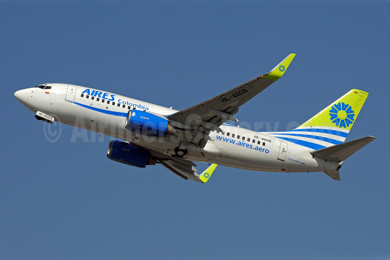 AIRES Colombia Boeing 737-73S WL HK-4608 (msn 29080) FLL (Bruce Drum). Image: 101761.