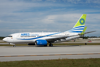 AIRES Colombia Boeing 737-73S WL HK-4623 (msn 29081) FLL (Arnd Wolf). Image: 904463.