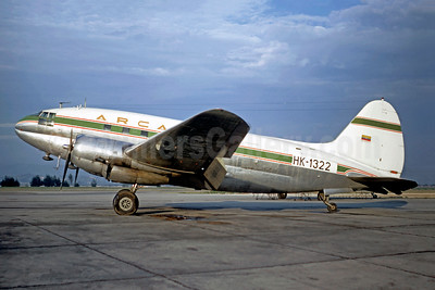 ARCA Colombia Curtiss C-46A-60-CK Commando HK-1322 (msn 444) BOG (Christian Volpati). Image: 902319.