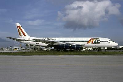 ATC (Aero Transcolombiano de Carga) (Fine Air) McDonnell Douglas DC-8-51 (F) N507DC (msn 45855) (DC-Stage III) MIA (Bruce Drum). Image: 105472.