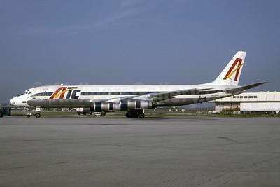 ATC (Aero Transcolombiano de Carga) (Fine Air) McDonnell Douglas DC-8-51 (F) HK3816 (msn 45685) (Fine Air stripe) MIA (Bruce Drum). Image: 105471.