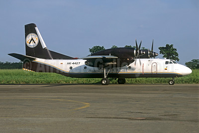 Aer Caribe Colombia Antonov An-32 HK-4427 (msn 1809) VVC (Jacques Guillem Collection). Image: 950626.