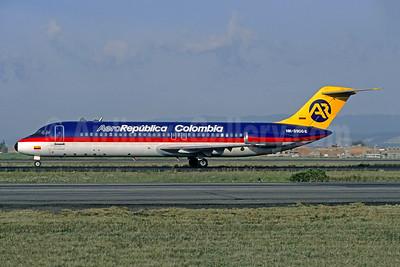 AeroRepublica Colombia McDonnell Douglas DC-9-31 HK-3906-X (msn 47401) BOG (Christian Volpati). Image: 947844.