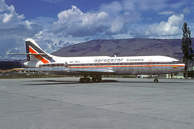 Aerocesar Colombia Sud Aviation SE.210 Caravelle 6R HK-1811 (msn 138) MDE (Christian Volpati Collection). Image: 950627.