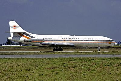 Aerocesar Colombia Sud Aviation SE.210 Caravelle 6R HK-1811 (msn 138) BOG (Christian Volpati). Image: 952665.