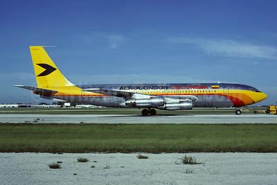 Aerocondor Colombia Boeing 707-123B HK-1802 (msn 17638) MIA (Al Rodriguez - Christian Volpati Collection). Image: 947649.