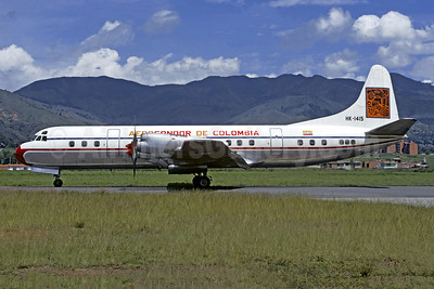 Aerocondor de Colombia Lockheed 188A Electra HK-1415 (msn 1081) MDE (Jacques Guillem Collection). Image: 947062.