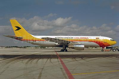 Aerocondor Colombia Airbus A300B4-2C HK-2057-X (msn 029) MIA (Bruce Drum). Image: 102885.