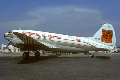 Aerocondor de Colombia C-46A Commando HK-851 (msn 2926) MIA (Jacques Guillem Collection). Image: 939719.