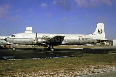 Aerocosta Colombia Douglas DC-6B (F) HK-1360 (msn 43528) MIA (Bruce Drum). Image: 105347.